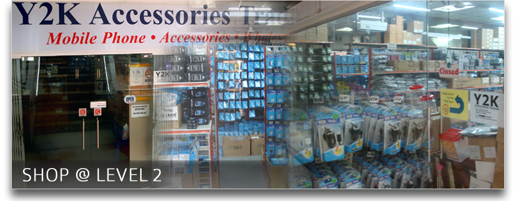 Mobile phones and mobile phone accessories supplier - Contact Y2k Trading Accessories